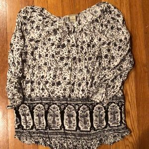 Lucky brand tunic size medium